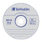 VERBATIM BD-R 25GB 6X DATALIFE CAKE (50)
