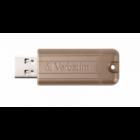 VERBATIM USB 3.0 PENDRIVE PINSTRIPE LIMITED EDITION 64GB ARANY
