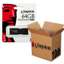 KINGSTON USB 3.0 DATATRAVELER 100 G3 64GB - 10 DB-OS CSOMAG