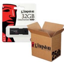KINGSTON USB 3.0 DATATRAVELER 100 G3 32GB - 25 DB-OS CSOMAG