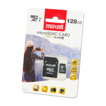 MAXELL X-SERIES MICRO SDXC 128GB + ADAPTER CLASS 10 UHS-I U1 (80 MB/s OLVASÁSI SEBESSÉG)