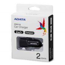ADATA CV0172 DUAL USB AUTÓS TÖLTŐ 2,4A 17W