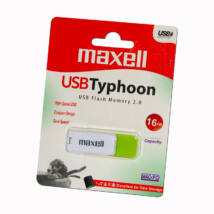 MAXELL USB 2.0 PENDRIVE TYPHOON 16GB FEHÉR/ZÖLD