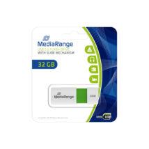 MEDIARANGE USB 2.0 PENDRIVE COLOR EDITION 32GB ZÖLD MR973