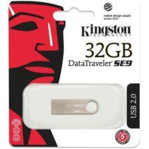 KINGSTON USB 2.0 DATATRAVELER SE9 EZÜST 32GB
