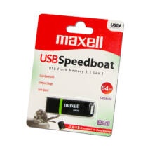 MAXELL USB 3.1 PENDRIVE SPEEDBOAT 64GB