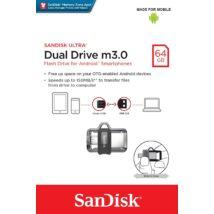 SANDISK USB 3.0 PENDRIVE ULTRA DUAL M3.0 OTG USB/MICROUSB 64GB
