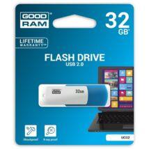 GOODRAM UCO2 USB 2.0 PENDRIVE 32GB KÉK/FEHÉR