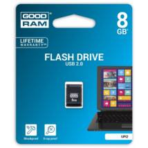 GOODRAM UPI2 PICCOLO USB 2.0 PENDRIVE 8GB FEKETE