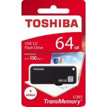 TOSHIBA U365 USB 3.0 PENDRIVE 64GB FEKETE