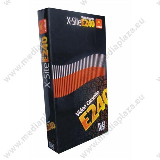X-SITE E-240 VHS KAZETTA 240 MIN