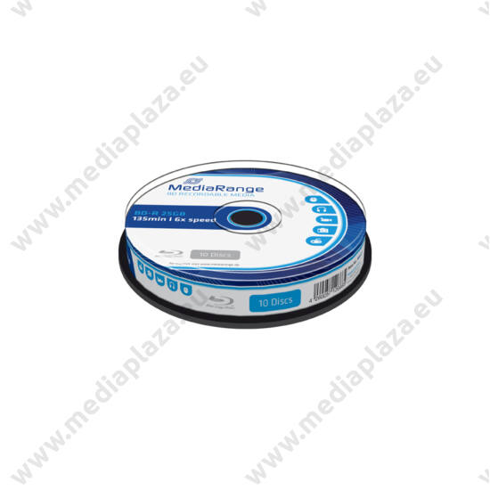 MEDIARANGE BD-R 25GB 6X CAKE (10) MR499