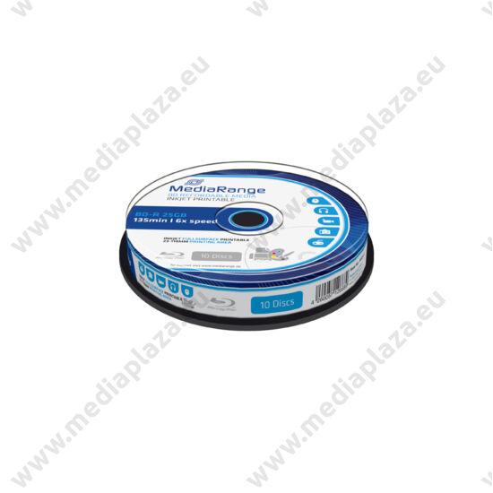MEDIARANGE BD-R 25GB 6X NYOMTATHATÓ CAKE (10) MR500