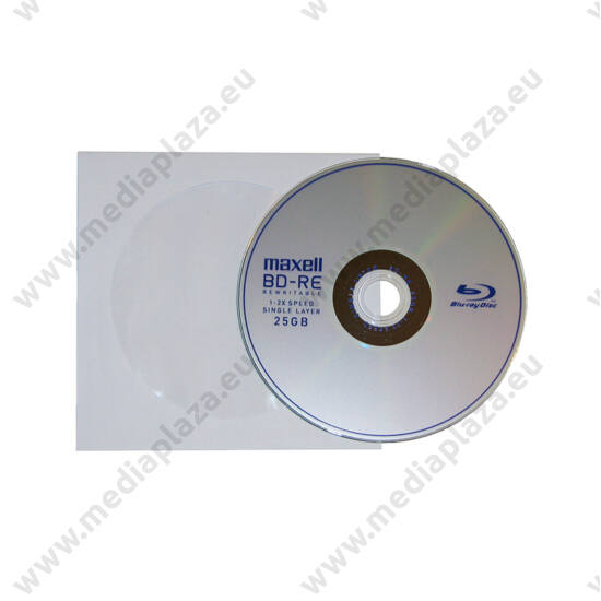 MAXELL BD-RE 25GB 2X PAPÍRTOKBAN