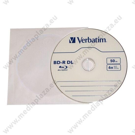 VERBATIM BD-R 50GB 6X PAPÍRTOKBAN