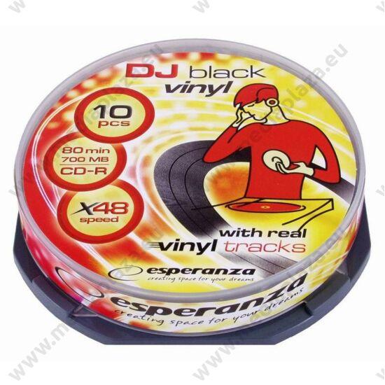 ESPERANZA CD-R 48X VINYL CAKE (10)