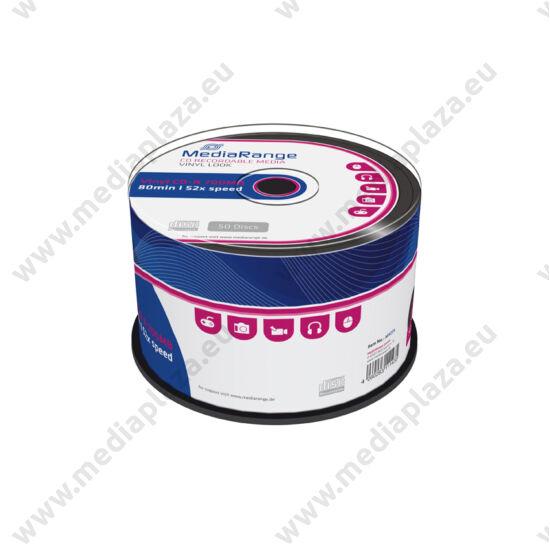 MEDIARANGE CD-R 52X BLACK VINYL CAKE (50) MR225