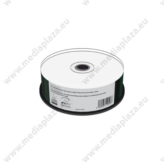 MEDIARANGE CD-R 48X 900MB 100MIN FULL NYOMTATHATÓ CAKE (25) MR243