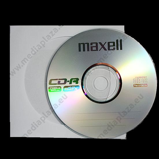 MAXELL CD-R 52X PAPÍRTOKBAN (10)