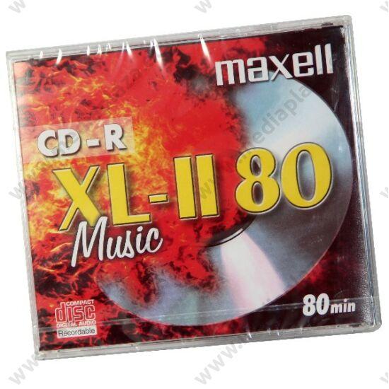MAXELL CD-R 52X AUDIO NORMÁL TOKBAN