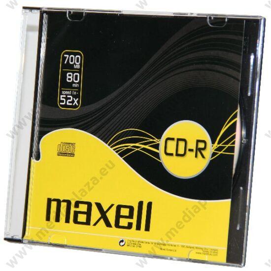 MAXELL CD-R 52X SLIM TOKBAN (10)
