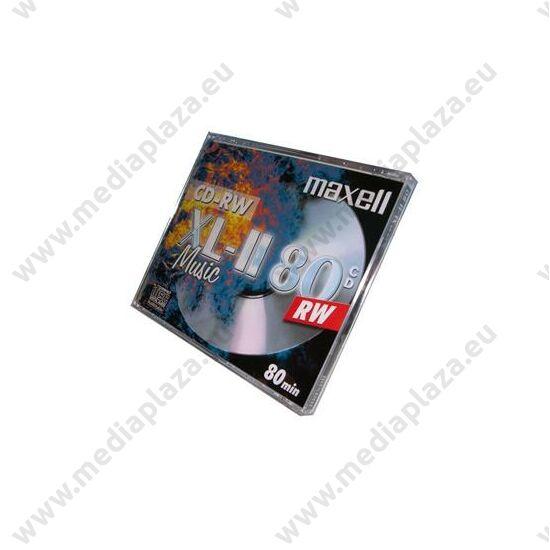 MAXELL CD-RW 12X AUDIO NORMÁL TOKBAN