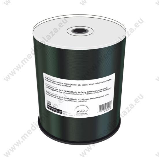 MEDIARANGE PROFESSIONAL LINE CD-R 52X FULL NYOMTATHATÓ CAKE (100) MRPL501-C