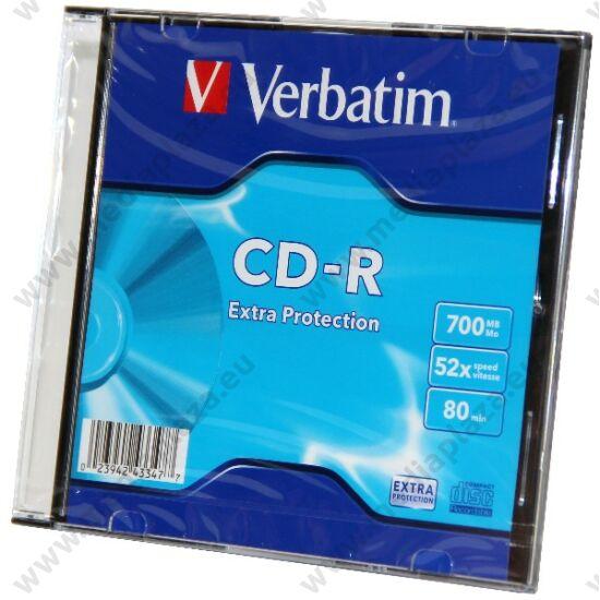 VERBATIM CD-R 52X SLIM TOKBAN (10)