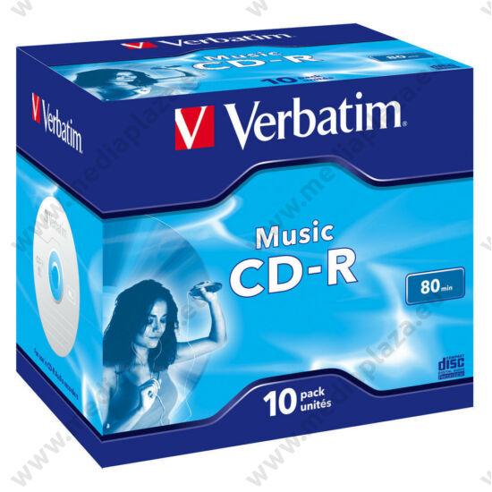 VERBATIM CD-R 52X AUDIO NORMÁL TOKBAN (10)