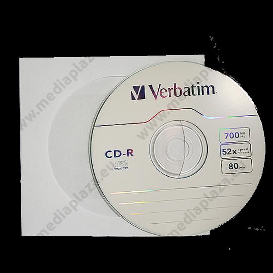 VERBATIM CD-R 52X PAPÍRTOKBAN (10)
