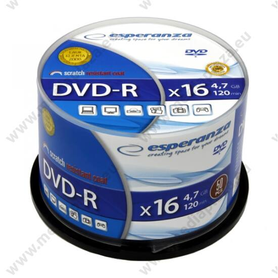 ESPERANZA DVD-R 16X CAKE (50)