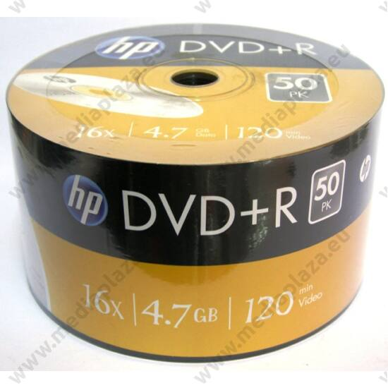 HP DVD+R 16X SHRINK (50)