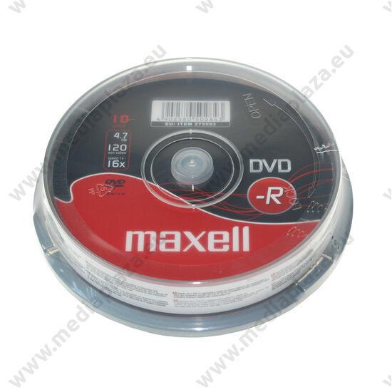 MAXELL DVD-R 16X CAKE (10)