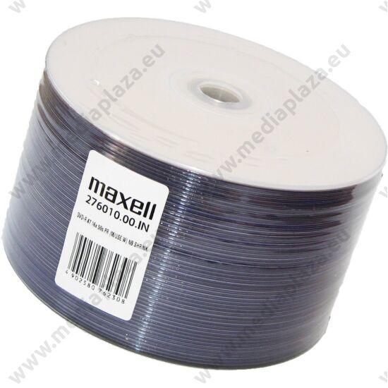 MAXELL DVD-R 16X FULL NYOMTATHATÓ SHRINK (50)
