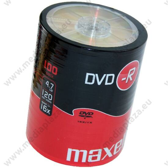 MAXELL DVD-R 16X SHRINK (100)