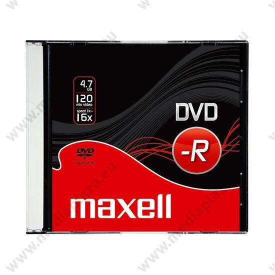 MAXELL DVD-R 16X SLIM TOKBAN (10)