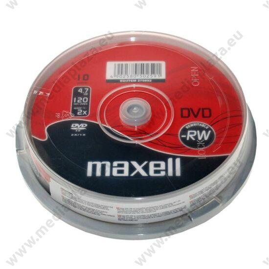 MAXELL DVD-RW 6X CAKE (10)