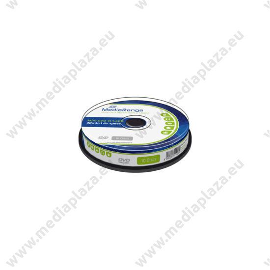 MEDIARANGE MINI DVD-R 4X 8CM 1,4GB CAKE (10)