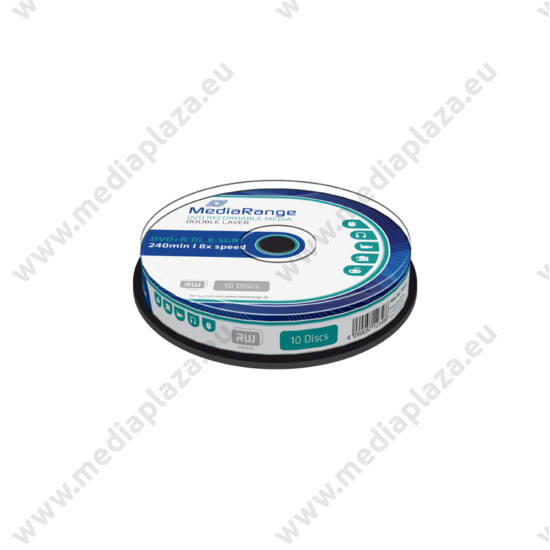 MEDIARANGE DVD+R 8X DL CAKE (10) MR466