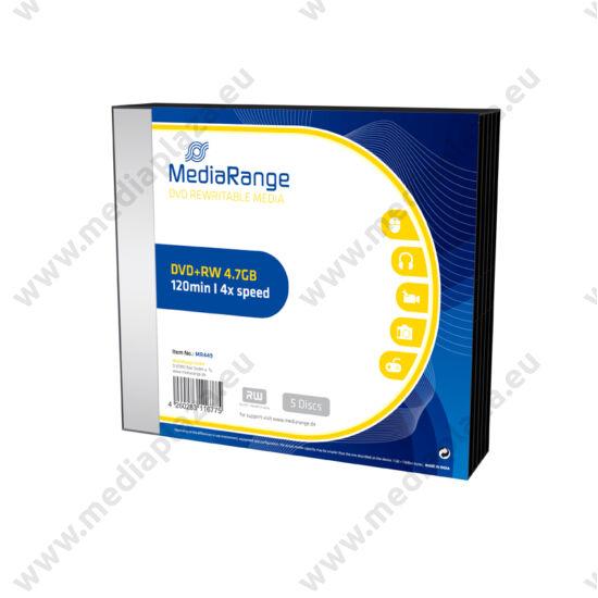 MEDIARANGE DVD+RW 4X SLIM TOKBAN (5) MR449