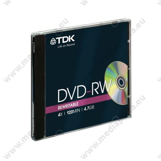 TDK DVD-RW 4X NORMÁL TOKBAN