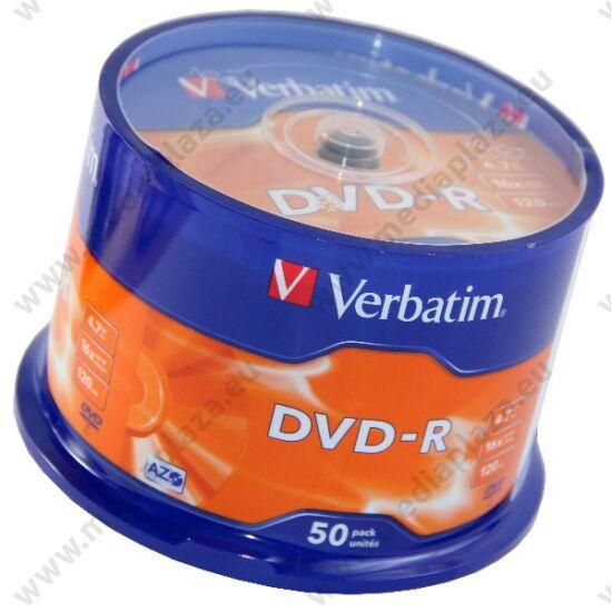 VERBATIM DVD-R 16X CAKE (50)