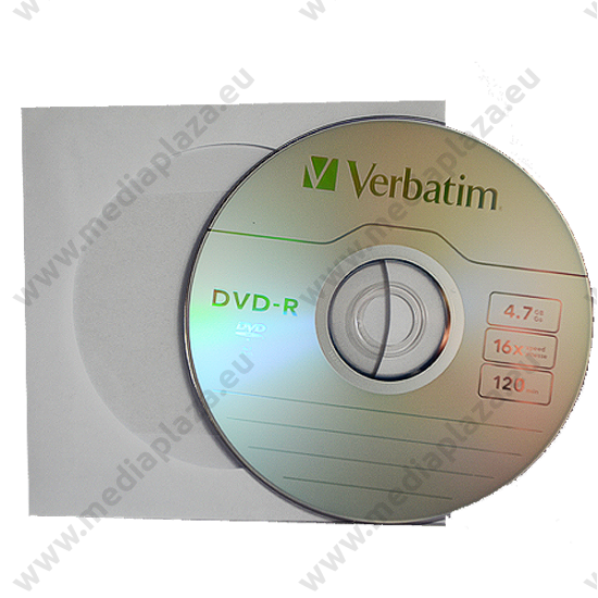 VERBATIM DVD-R 16X PAPÍRTOKBAN (10)