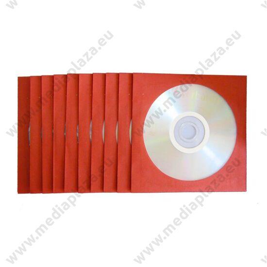 VERBATIM DVD-R 16X PIROS SZÍNŰ PAPÍRTOKBAN (10)
