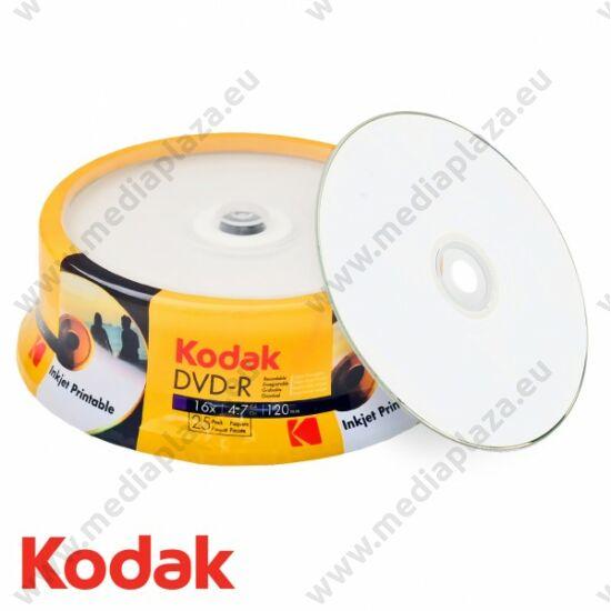 KODAK DVD-R 16X FULL NYOMTATHATÓ CAKE (25)