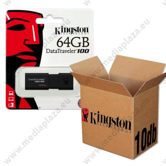 KINGSTON USB 3.0 DATATRAVELER 100 G3 64GB - 10 DB-OS CSOMAG