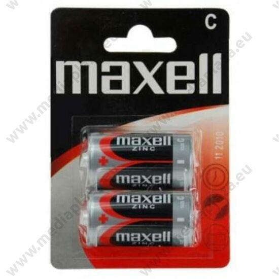 MAXELL R14 ZINC ELEM (2 BLISTER)