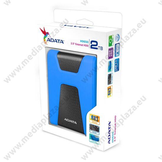 ADATA HD650 2,5 COL USB 3.1 KÜLSŐ MEREVLEMEZ 2TB KÉK