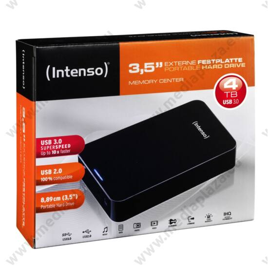 INTENSO USB 3.0 HDD 3,5 MEMORY CENTER 4TB