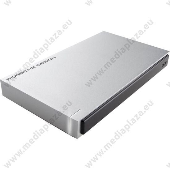 LACIE PORSCHE DESIGN MOBILE DRIVE 2,5 COL USB 3.0 KÜLSŐ MEREVLEMEZ 2TB EZÜST OEM